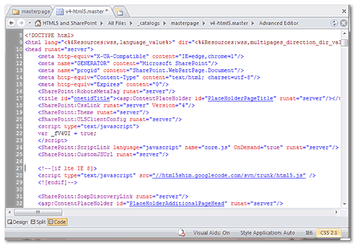sharepoint-html5